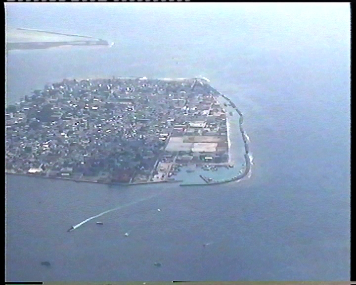 Arial view of Male'